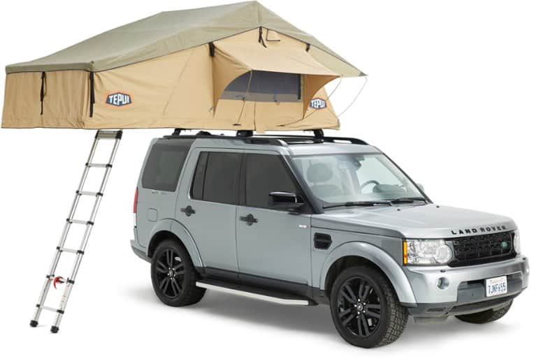 Tepui Rooftop Tent Explorer shown on an SUV