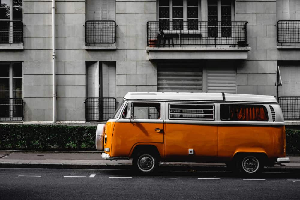 The iconic VW bus has been a favorite since the 1960s
