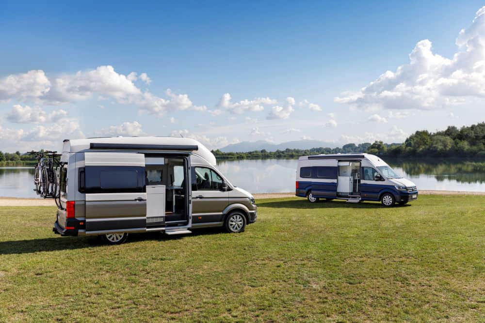 The VW Grand California 600 and the VW 680