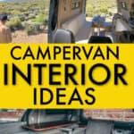 Campervan interior ideas for your build