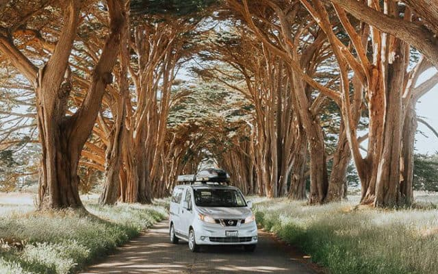 Free Bird Nissan NV200 camper is modern VW
