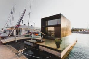 Floating Koda series prefab tiny home