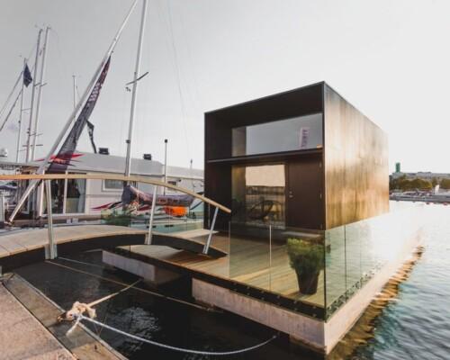 Floating Koda series prefab tiny home