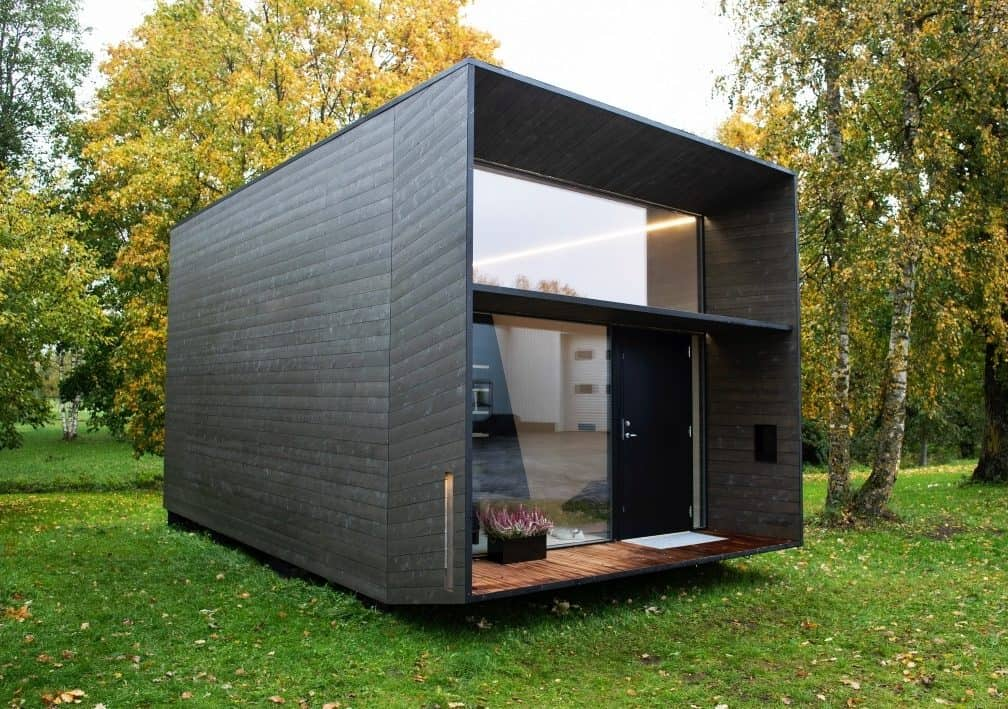 Koda series prefab tiny home modern exterior