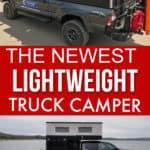 Lightweight truck camper