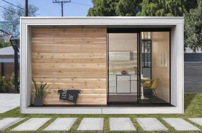 Plús Hús prefab tiny home modern exterior