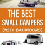 BEST SMALL CAMPERS WITH BATHROOMS