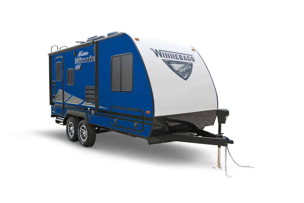 Winnebago Micro Minnie small camper trailer with bathroom