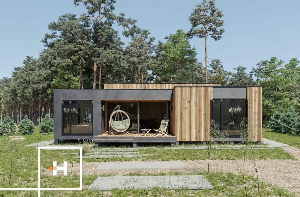 Homm Space prefab tiny home