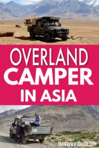Overland truck camper takes on Central Asia