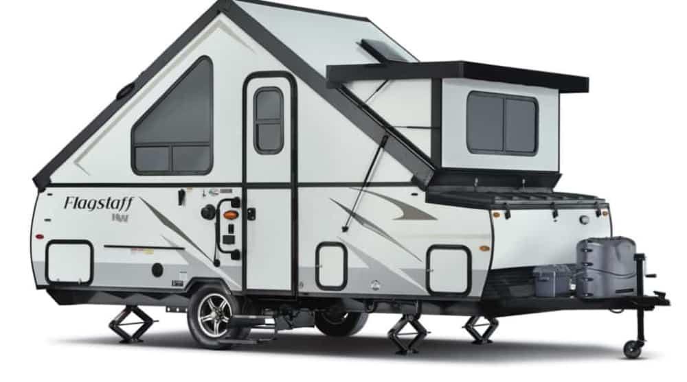 Forest River Flagstaff A-frame camper