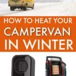 heating a campervan in winter