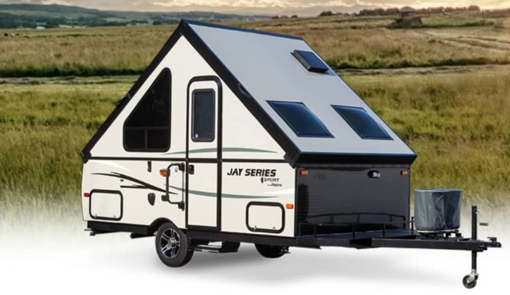 2015 Jay Series Sport Hardwall A-Frame pop up Camper