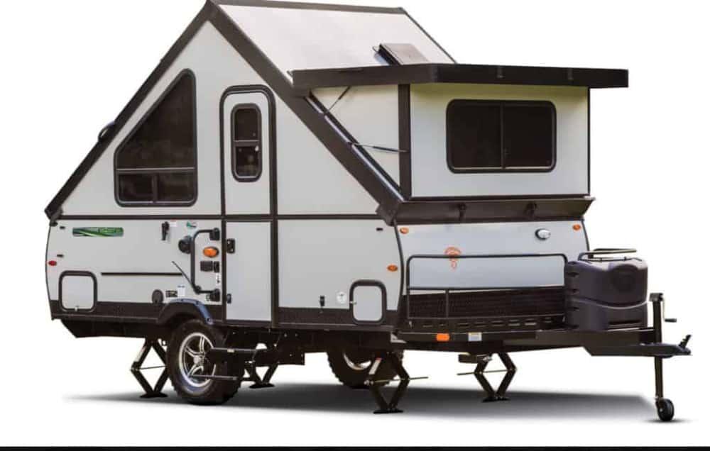 Rockwood A-frame camper by Forest River