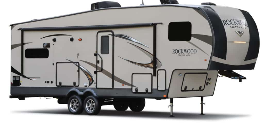 Rockwood Ultra Light small 5th wheel trailer