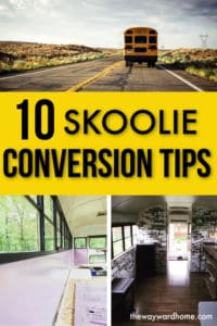 10 skoolie conversion tips