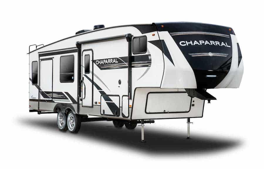 Small 5th Wheel Camper - Chaparral Lite PC Coachmen RV