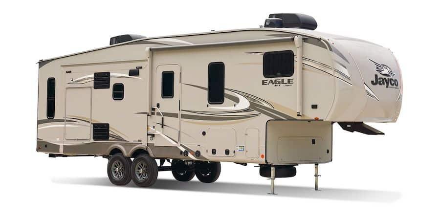Small 5th Wheel Camper - Jayco Eagle HT PC Jayco