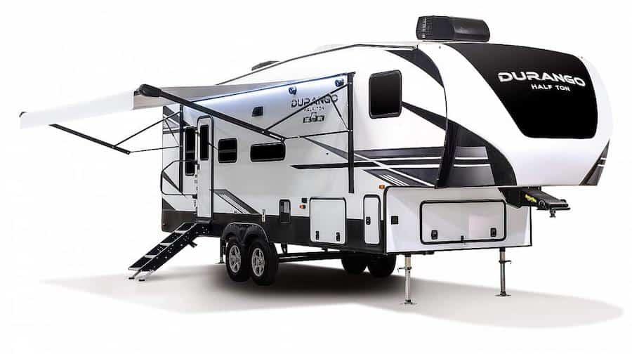 Small 5th Wheel Camper - KZ Durango Half-Ton PC KZ RV