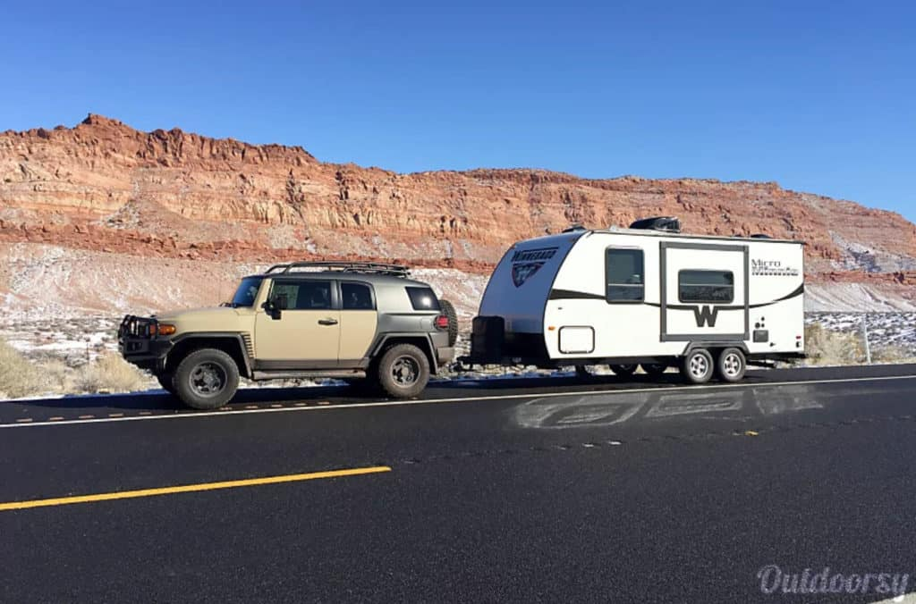 Winnebago Travel Trailer Rental