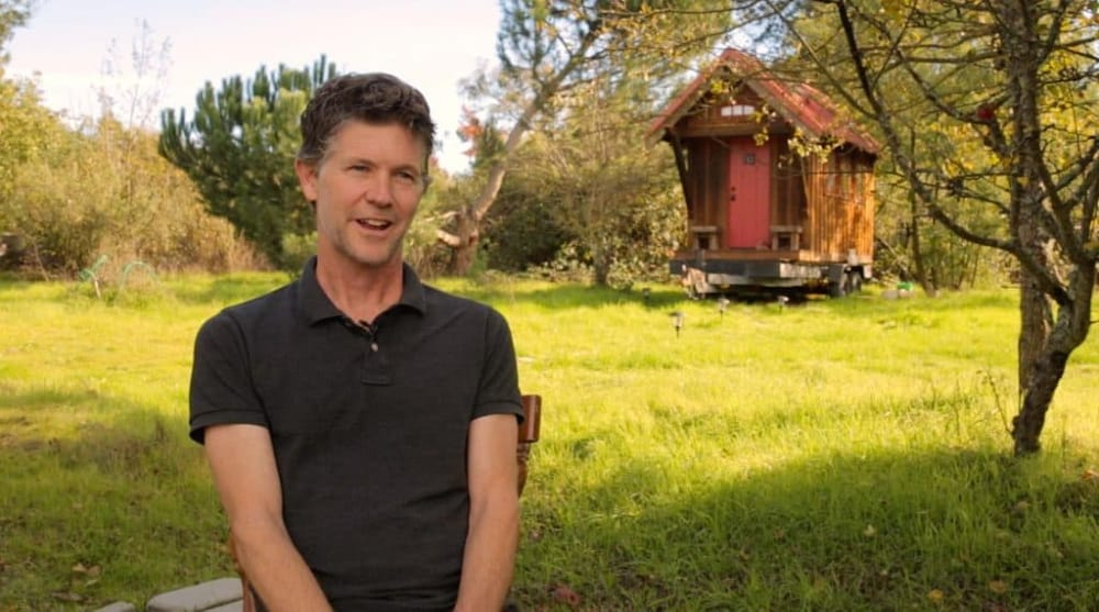 Jay Shafer, godfather of the tiny house movement, and his tiny house