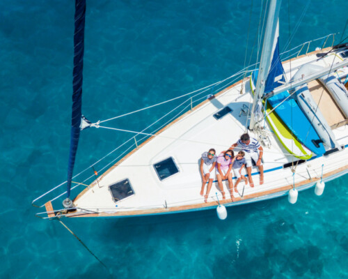 family onboard a sailing vessel - it can be hard finding the right gifts for sailors