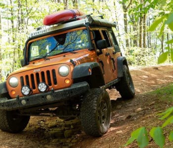 Man living in a Jeep Wrangler camper hopes to inspire