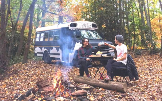 Stop staring at my bus! How to #vanlife as an introvert