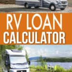 RV LOAN CALCULATOR