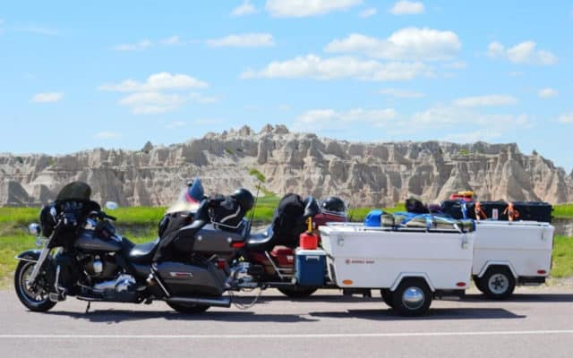 8 motorcycle campers for a unique trip