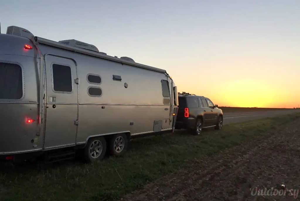 Airstream trailer rental in Texas