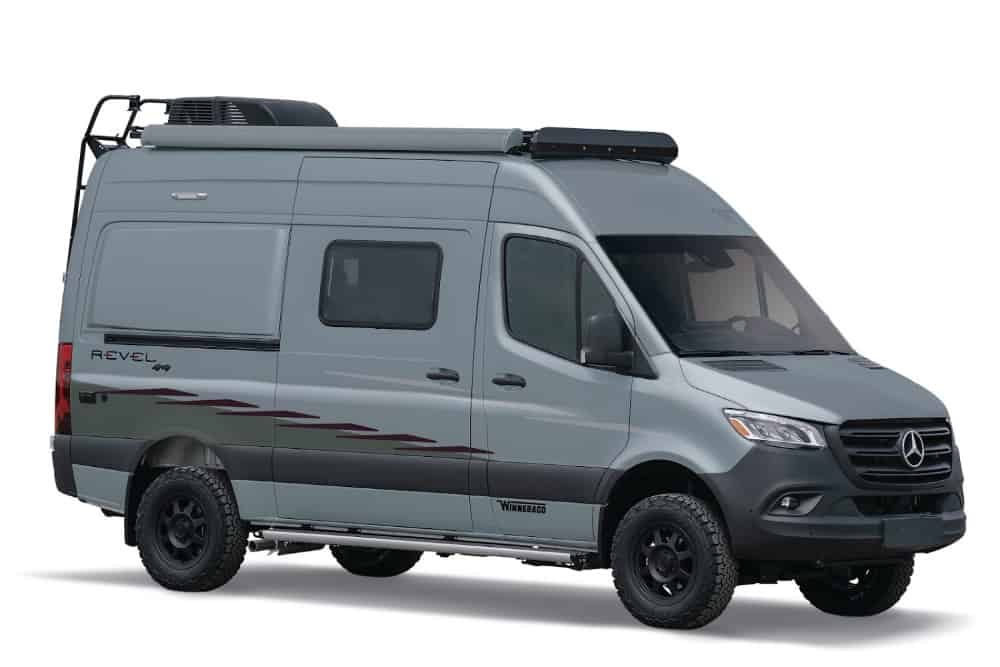 The Winnebago Revel starts our list of the best small Class B RVs.