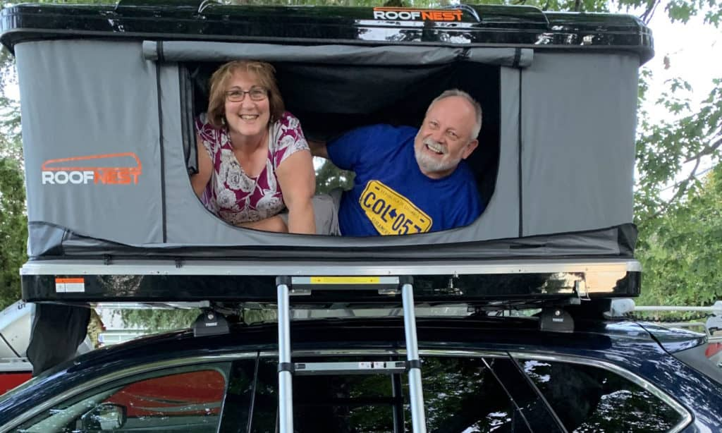 Empty nesters live an adventurous life in a Roofnest