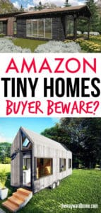 amazon tiny homes