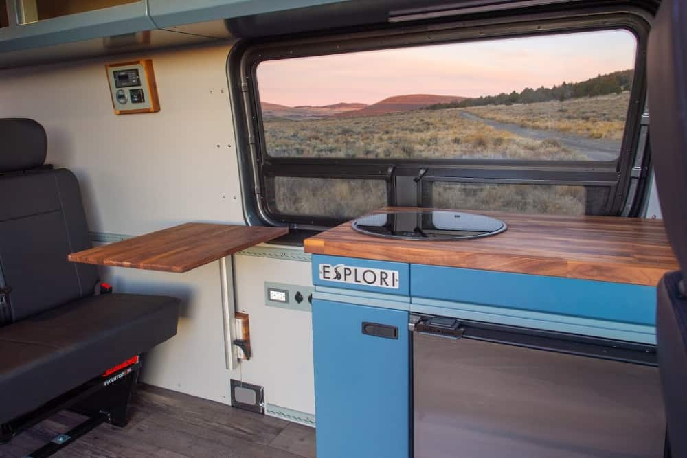 Esplori customizes their Class B RVs with the environment in mind.