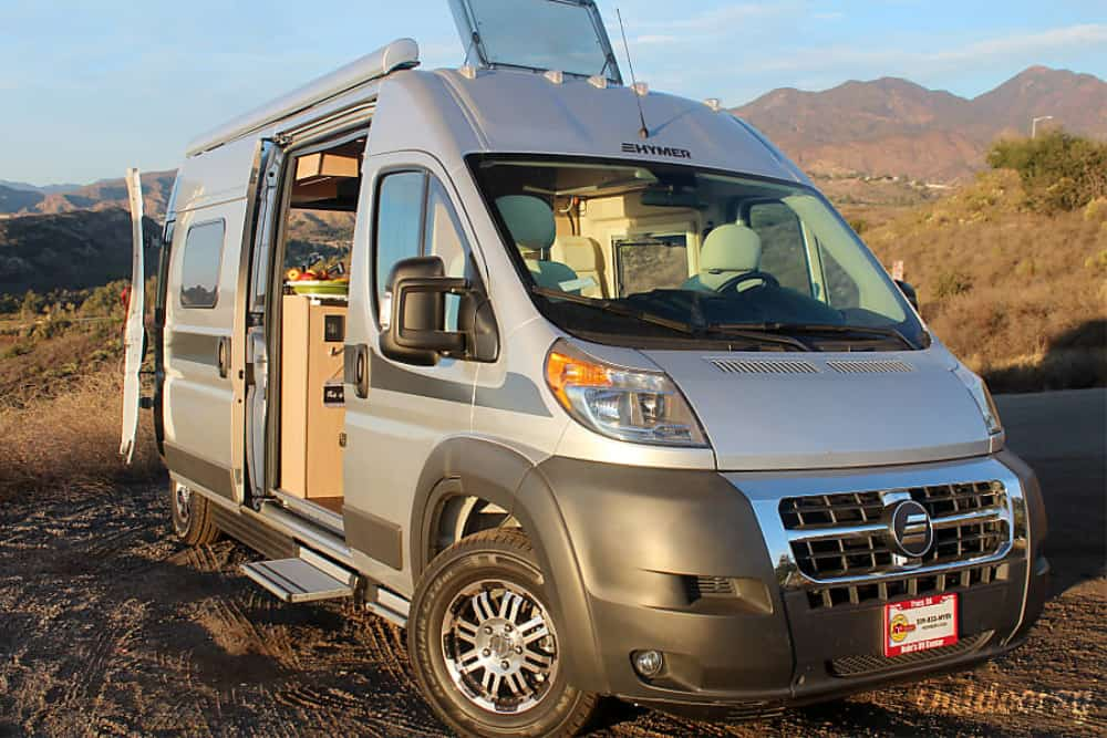 This small Class B RV can be rented for your next adventure!