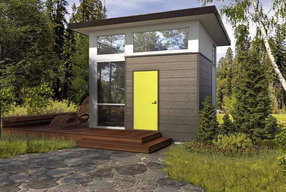 Nomad Cube Tiny house for sale on Amazon