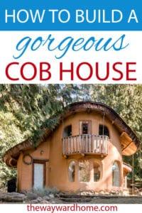 Building a cob house: an eco-friendly dream home - The ...