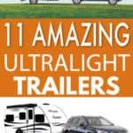 11 ultralight travel trailers
