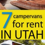 campervans for rent in Utah