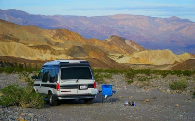Free Camping in Death Valley: How to Find Boondocking Sites