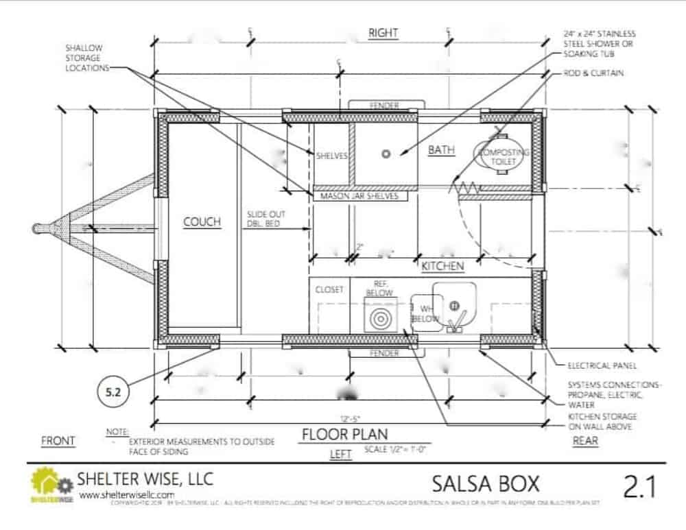 How To Pick The Best Tiny House On Wheels Floor Plan The Wayward Home