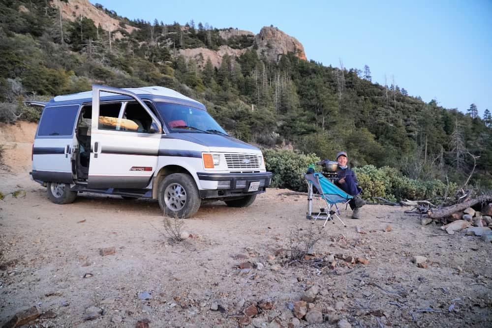 Chevy Astro AWD camper van conversion