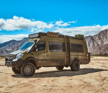The Coolest 4×4 Mercedes Sprinter Van Camper You'll See