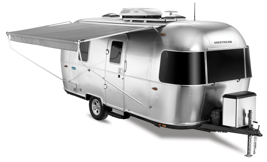 The Airstream Bambi small travel trailer is spendy but gorgeous.