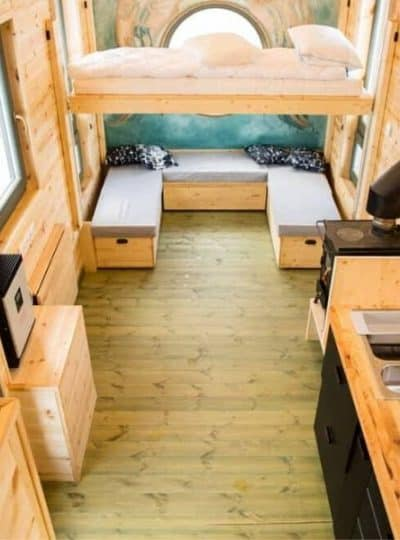 Tiny home storage ideas feature image