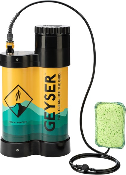 Geyster Portable Shower system perfect for a van life shower