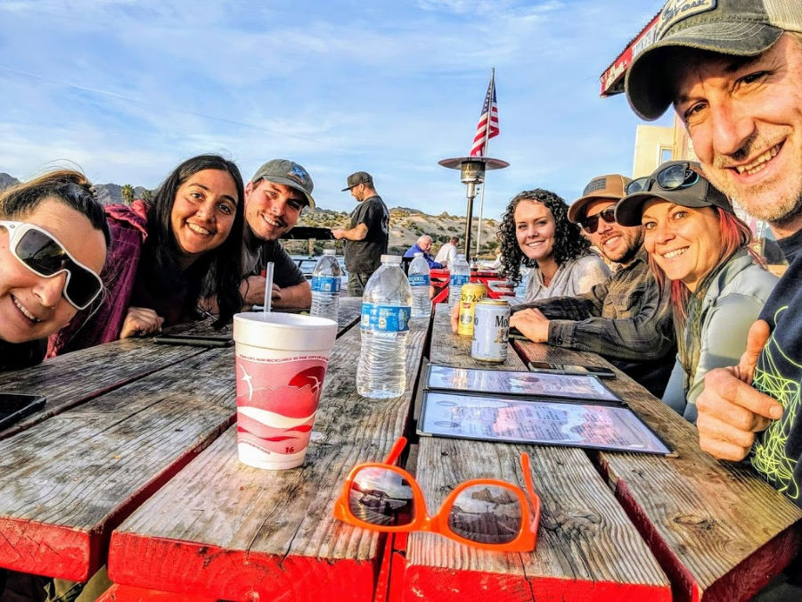 A group of RVing friends makes solo RVing less lonely