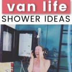 van life shower ideas