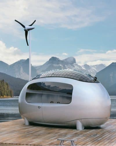 Ecocapsule off grid tiny house